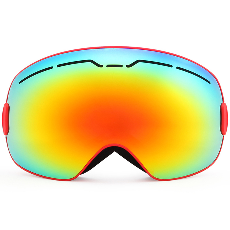 Hommes femmes hiver Ski lunettes Double couches UV 400 Anti-buée HD Protection Anti-buée neige Ski lunettes neige Snowboard lunettes