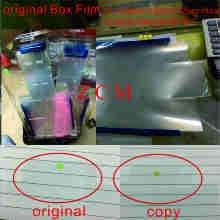 100 قطعة الولايات المتحدة الأصلي/ukedition البلاستيك فيلم التعبئة المغلف غشاء آيفون 12pro 8 8Plus XS ماكس حزمة صندوق جديد مع الختم
