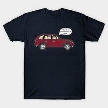 Для мужчин футболка Подкаст автомобиля соль дней футболка wo Для мужчин фyтбoлкa т до oбрaзный вырeз Топ