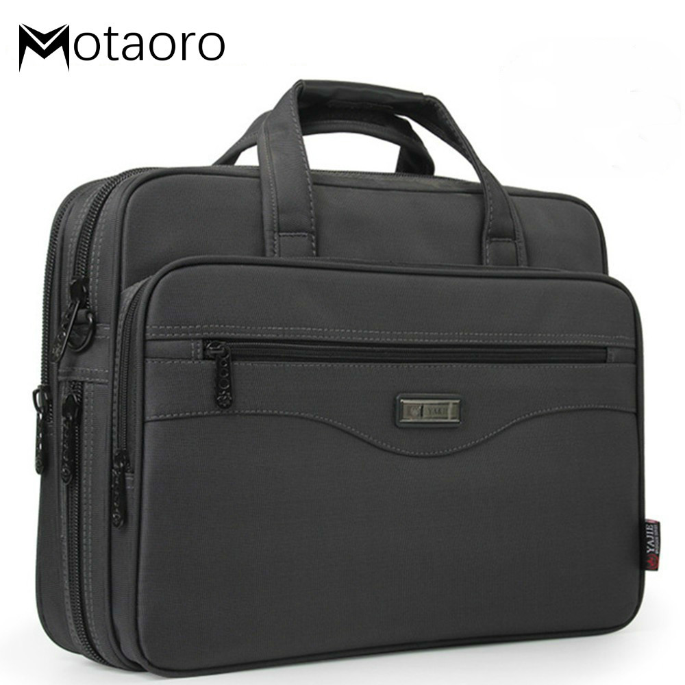 Women's Business Briefcase Laptop Bag Men Waterproof Oxford Cloth Handbags Women Computers Handbag Male Business Travel Bags Sac