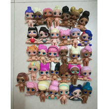 5/10 Pcs Different Style Beautiful High Quality Original LOLS Dolls Nude Action Figure Dolls Toy Girls Gifts Halloween Christmas