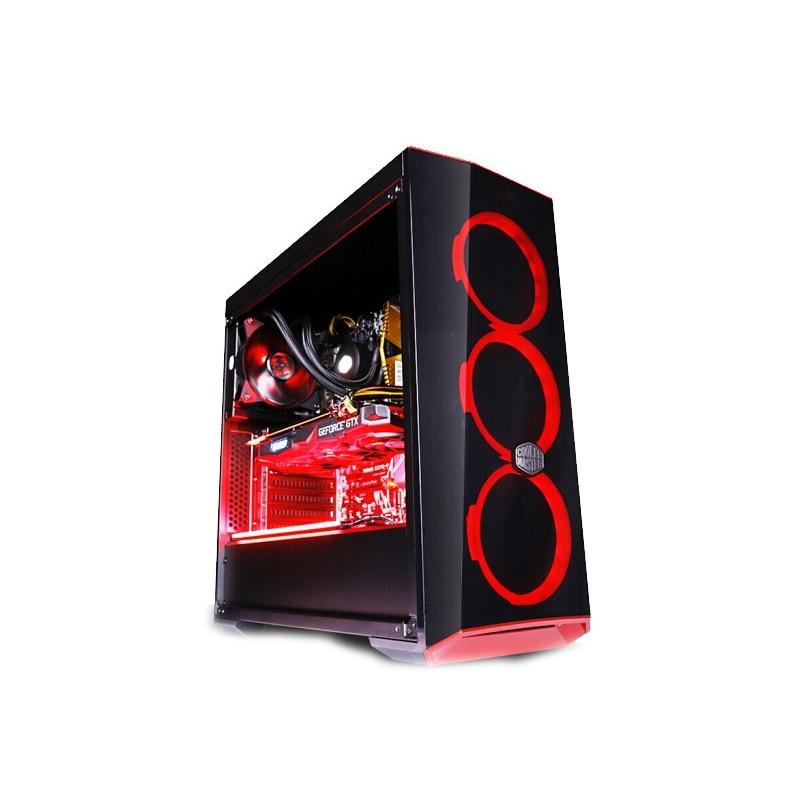 IPASON игровой пк компьютер AMD R7 3700X Дискретная карта RTX2060 SUPER 8G DDR4 16G ram 256G SSD для игр PUBG настольные компьютеры ПК