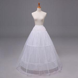 Image 2 - 2 Hoops 1 layer Yarn Skirt Bride Bridal Wedding Dress Support Petticoat Women Costume Skirts Lining Liner E15E