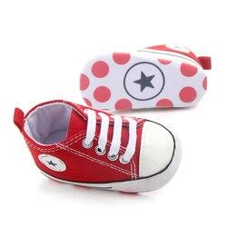Zapatillas de lona para recién nacidos, cómodas y transpirables, zapatos para primeros pasos, zapatos de cuna antideslizantes Unisex para niños pequeños, zapatos para bebés y niñas 2020