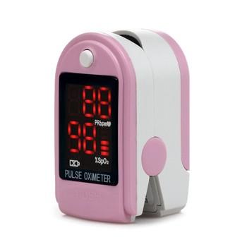 Glukozy we krwi i monitor ciśnienia krwi tlenu we krwi test proste przenośne urządzenie przyrządy medyczne tanie i dobre opinie SMALL Ciśnienie krwi white pink blue china Blood Pressure Finger type small one Not included 2 x AAA 1 5V alkaline battery