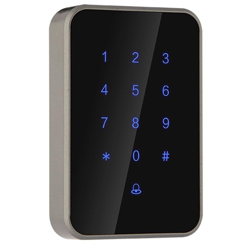 Fechadura digital leitor de cartão de controle acesso eletrônico inteligente fechadura da porta de vidro fechadura da segurança do escritório