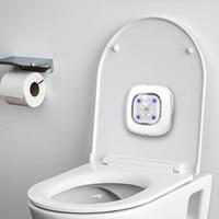 Baño UV LED de luz inteligente inodoro de Sensor lámpara UV esterilizadora USB recargable para inodoro luces para cuarto de baño de luz