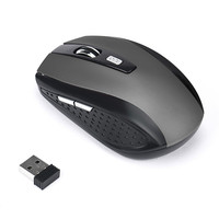 Mouse 2.4GHz Wireless Gaming Mouse USB Receiver Pro Gamer For PC Laptop Desktop With 6 Keys DPI 2000 Portable and weight light