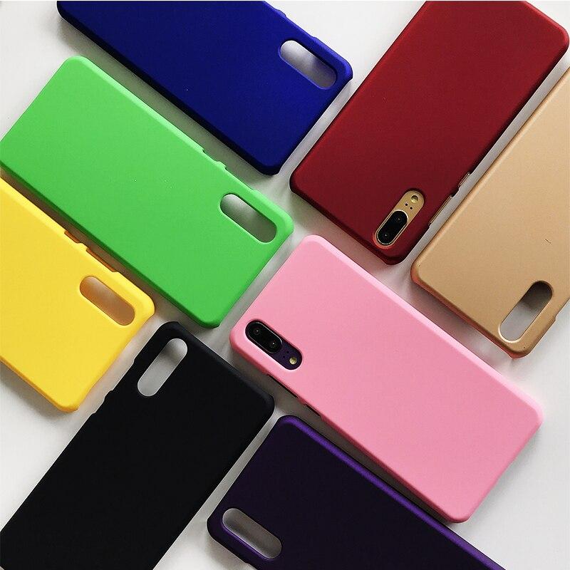 Xiaomi Redmi Note 9S Case Cover Matte Hard Plastic PC Case For Xiaomi Redmi Note 9S 8T 8 7 6 5 4 9 7A 8A K30 Pro Max Phone Case