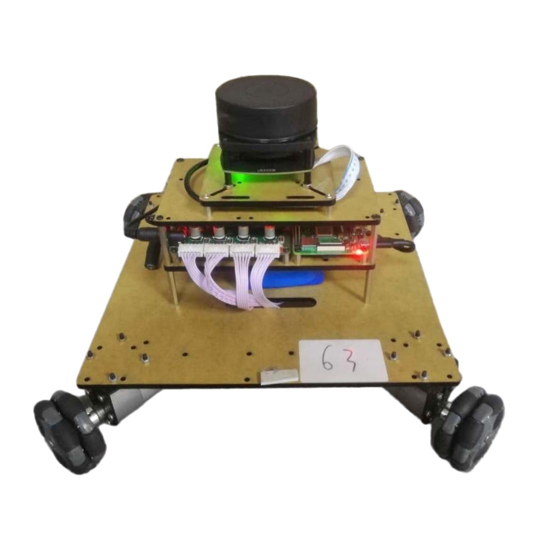Robot Operating System Ailibot Omnidirectional Robot Car Kit For Children Kids Developmental Early Educational Toys - 04 Version