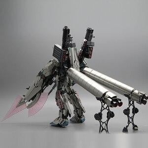 Image 3 - Bandai Mg 1/100 Metalen Plating Kleur RX 0 Volledige Armor Eenhoorn Gundam Kaka 20 Cm Monteren Actie Toy Figures Kinderen geschenken