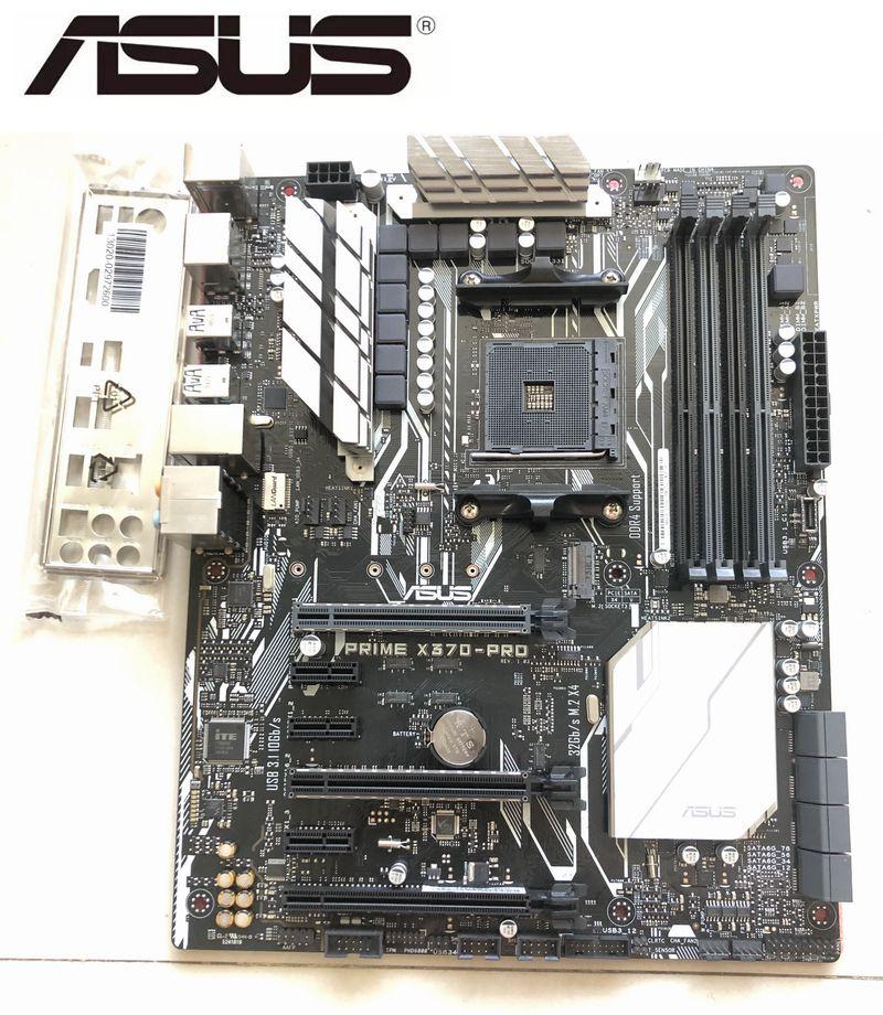 ASUS PRIME X370-PRO Original Motherboard For AMD Socket AM4 DDR4 64GB HDMI Boards M.2 SATA3 Desktop Motherboard