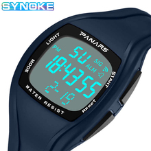 SYNOKE Men Led Digital Watches Waterproof Watch