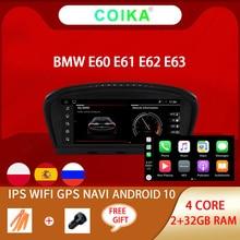 """8.8 """"หน้าจอAndroidเครื่องเล่นวิทยุสำหรับBMW E60 E61 E62 E63 E90 E91 E92 E93 WIFI 2 + 32GB BT IPS Touch Screen GPS Navi Carplay"""