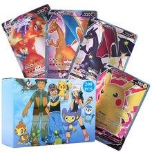 2021 nouvelle Carte Pokemon anglais Vmax GX Tag équipe EX Mega jeu bataille Carte commerce enfants jouet