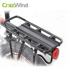 Crazwind MTB Bike Rack Aluminum Alloy 50KG Luggage Rear Carrier Trunk for Bicycles Bike Rear Shelf Cycling Bicycle Racks(China)
