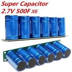 1 Uds. Condensador Farad 2,7 V 500F súper condensador con condensadores de Placa de protección 16v 23x3,5x6cm suministros electrónicos