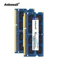 Комплект Ankowall DDR3 1333Mhz 8GB (2x4 GB) 4GB ram 1333 MHz SODIMM notebook Memory PC3-10600 ram для ноутбука