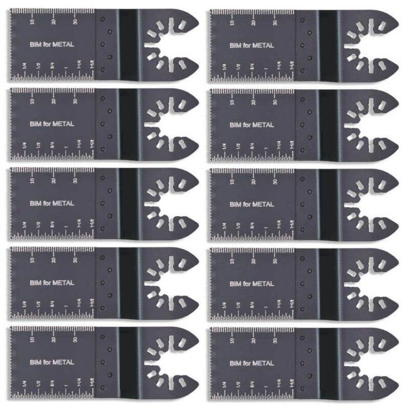 10pcs Oscillating Saw Blade Bi-metal Multitool For DeWalt Porter Cable/ROCKWEL
