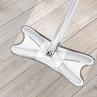 HOT Household Mop Flat 360 Degree Tile Wood Floor Cleaning Mop Hands-free Washing TI99