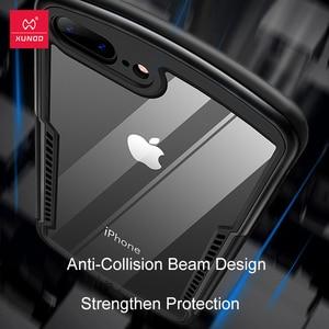 Image 5 - Funda protectora para iPhone SE 2020, Xundd, funda de silicona para iPhone SE2 SE, carcasa a prueba de golpes, funda ajustada transparente