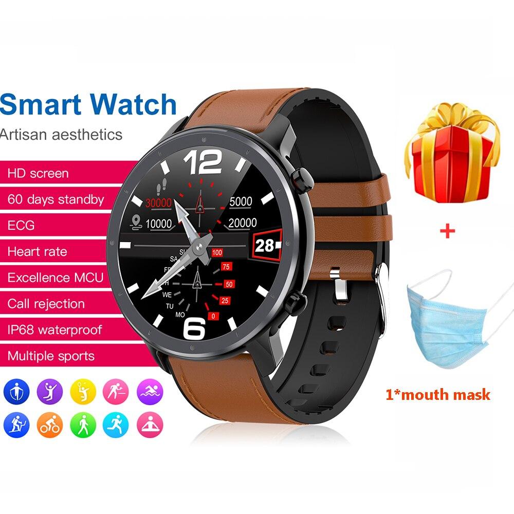 L11 Smart Watch Men ECG PPG Heart Rate Blood Pressure Monitor Reloj Inteligente IP68 Waterproof Weather Smartwatch PK L8 L7 L9