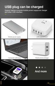 Image 5 - VOXLINK batteria del caricatore 2 slot USB Intelligente di ricarica 18650 26650 21700 14500 26500 22650 26700 Li Ion Ricaricabile