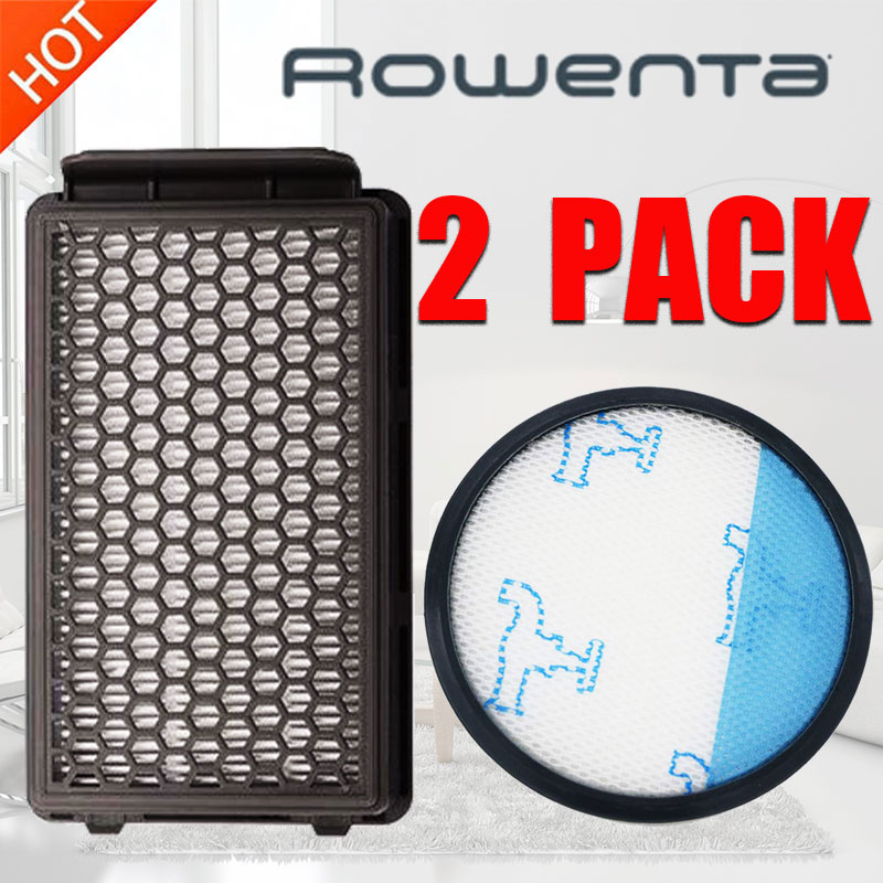 Rowenta Filter Kit HEPA Staubsauger Compact Power RO3715 RO3759 RO3798 RO3799 Vacuum Cleaner Parts Kit Accessories