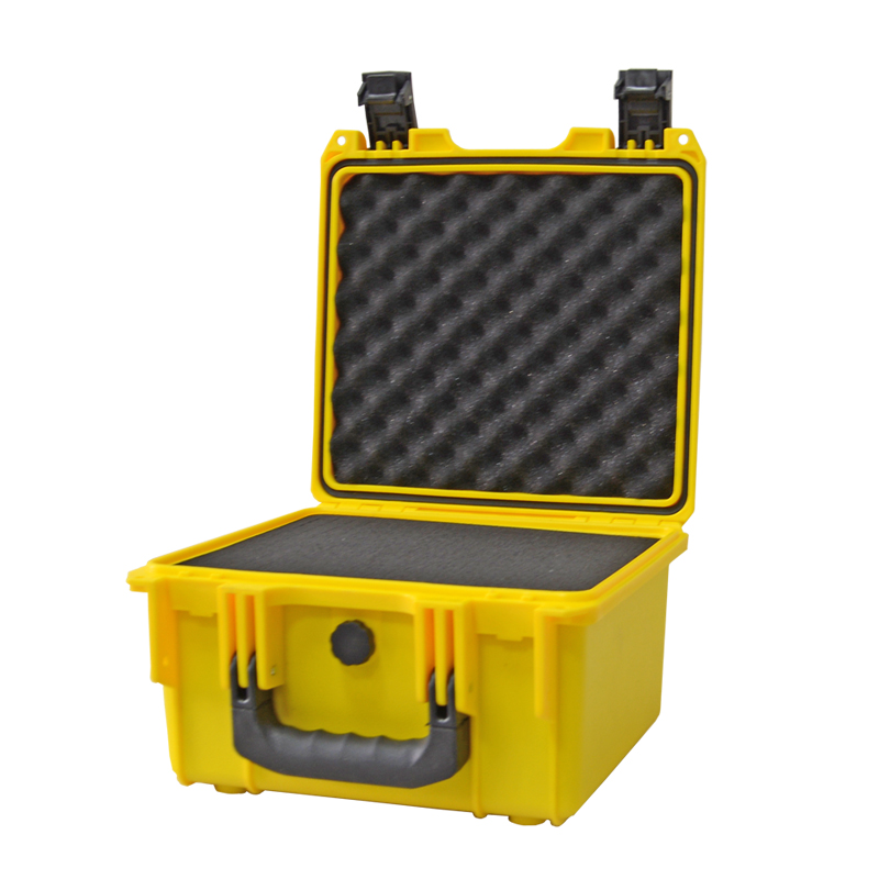 Toolbox Impact Resistant Safety Case Suitcase Tool Case File Box Equipment Camera Case With Pre-cut Foam Lining 290x285x170mm