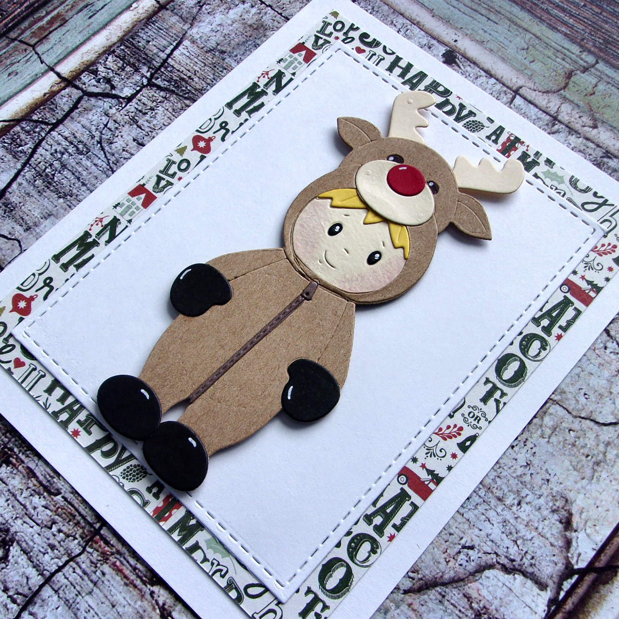 Gingerbread man /& Christmas candy cane Metal Die Cutter scrapbooking Card Craft