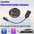 DIY Автомобильный адаптер BT для Audi S3/S4/S5/S6/S7/S8 AMI MMI MDI Интерфейс Bluetooth аудио декодер 3G/4G/5G Беспроводной кабель
