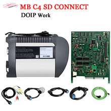 цена на 2020 DOIP MB STAR C4 plus Diagnosis support more MB Cars Trucks V03/2020 full software system real DOIP C4 SD tester quick ship