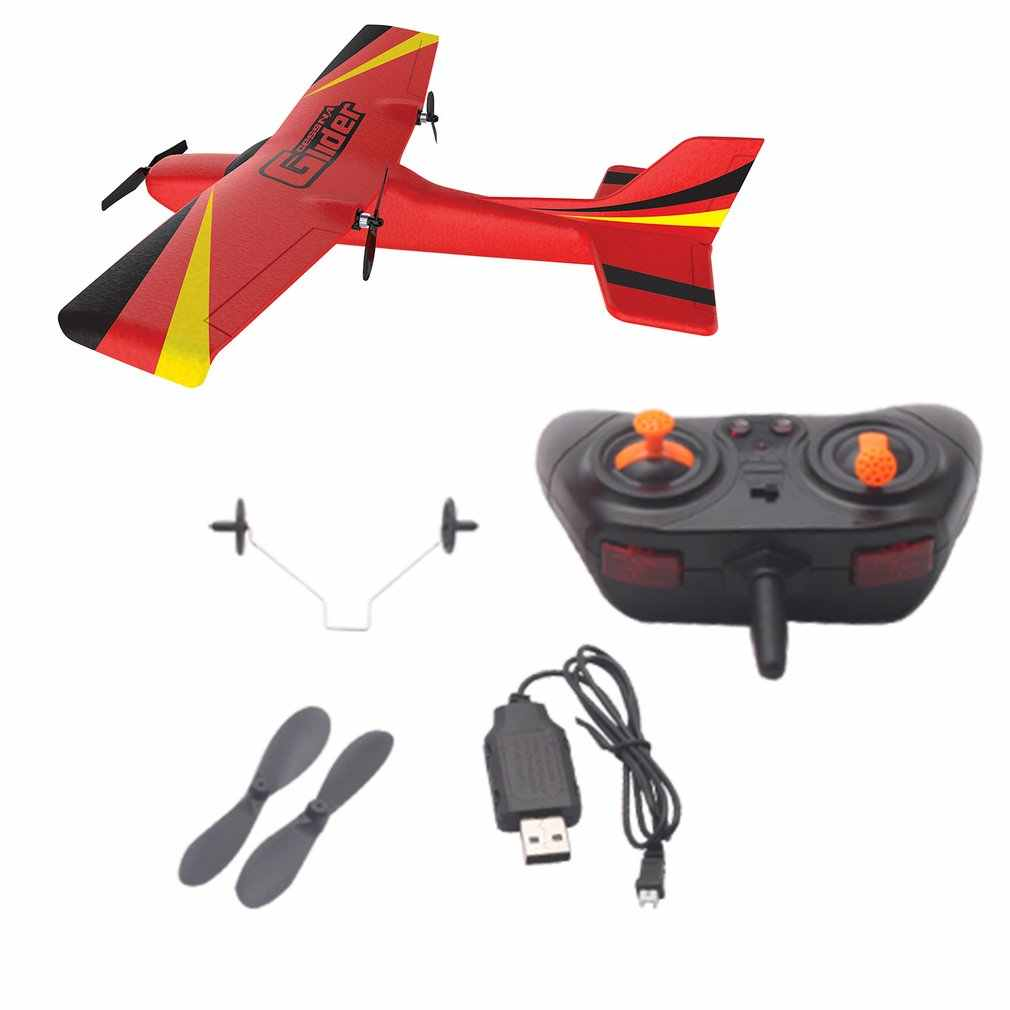 2019 Z50 2.4G 2CH 350 Mm Mikro Lebar Sayap Remote Control RC Glider Pesawat Pesawat Sayap Tetap Epp Drone dengan built-In Gyro untuk Anak-anak