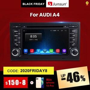 Junsun Android 10.0 DSP 2 din Car Radio Multimedia Video Player For Audi A4 B8 B7 B6 S4 RS4 B7 SEAT Exeo Navigation GPS 2din DVD