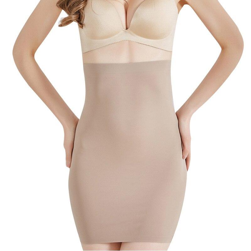 Venta al por mayor Super elástico de alta cintura mujeres adelgazante ropa interior moldeador de cuerpo postparto Control de la barriga deslizantes bragas Shapewear