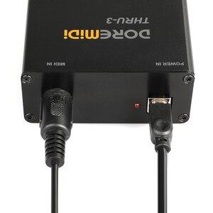 Контроллер DOREMiDi через 3 THRU Box|Сценическое оборудование|   | АлиЭкспресс