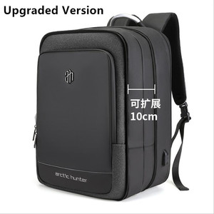 Image 2 - ArcticHunter Sale Laptop Backpack Men 17 inch Office Work Men Backpack Business Bag Unisex 10 inch iPad Backpack Thin Back Pack