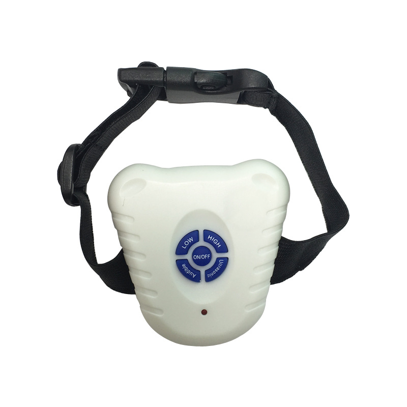 Electronic Ultrasound Stoppers Dog Trainer Stop Called Neck Ring Large And Medium Small Dogs For Bark Stop