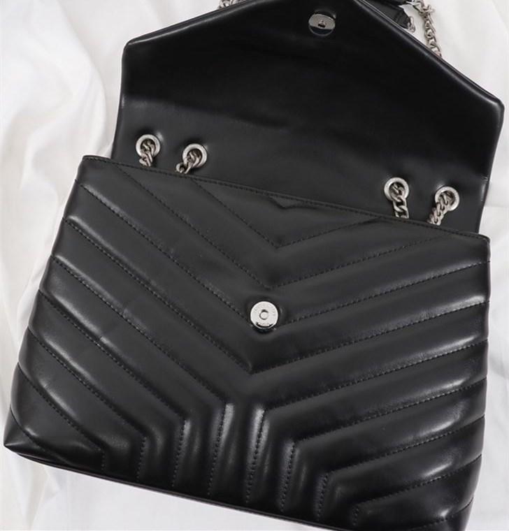Classic Luxury Ladies Bag Top Quality Smooth Leather Ladies Shoulder Bag Crossbody Bag Designer Handbags