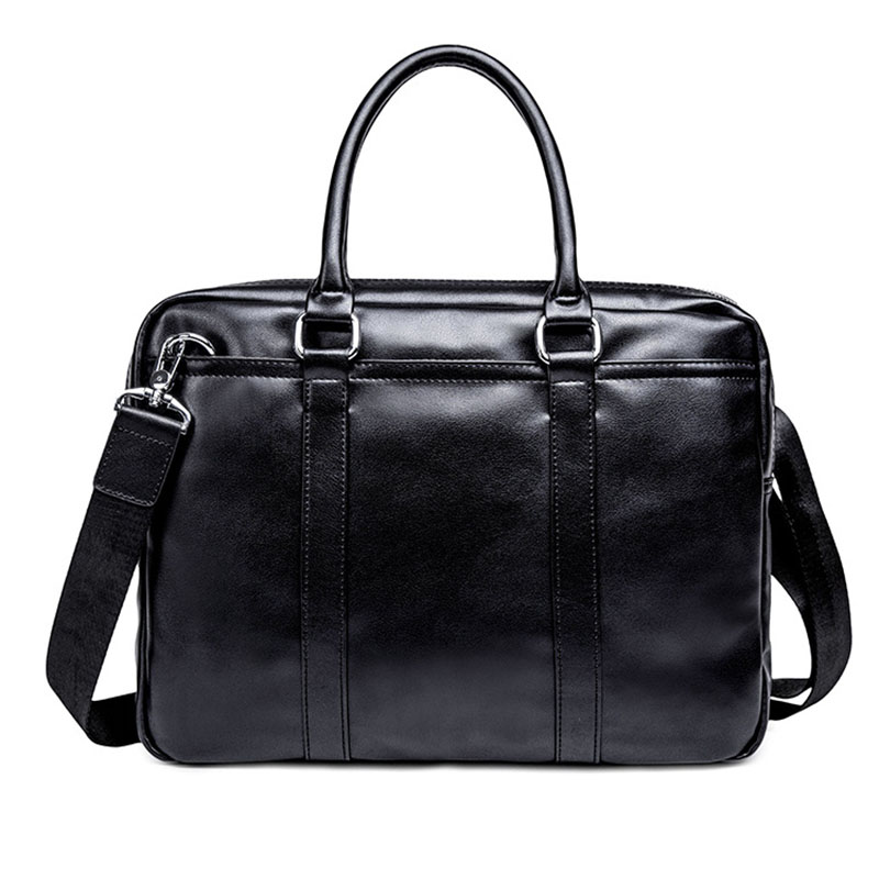 Men's Briefcase New Business Leisure Briefcase Male High Capacity High-quality Leather Men Handbags Classic Men Shoulder Bag