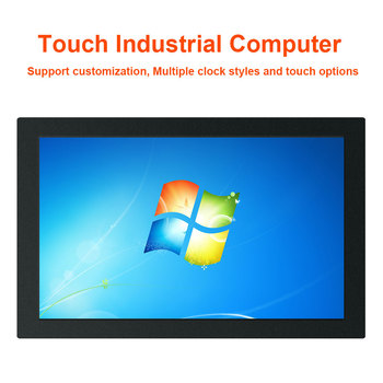 15 inch Resistive touch screen panel PC Aluminum Alloy case IP65 front waterproof industrial pc