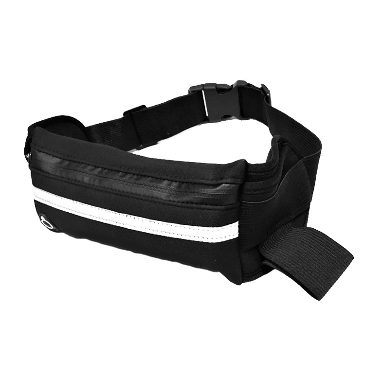 Outdoor Running Body Hugging Hidden Neoprene Sports Pockets Multi-functional Portable Mobile Phone Waist Bag