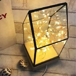 Drewniany motyw drzewa ognia lampki świąteczne nowy rok dekoracja wnętrza kształt życia lampka nocna do pokoju festiwal szklana sypialnia rodzina w Oświetlenie nocne od Lampy i oświetlenie na