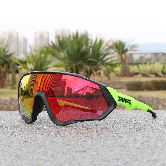 Óculos de ciclismo uv400 mtb bicicleta óculos de sol correndo pesca esportes óculos de sol 2