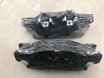 (4 sztuk zestaw) przedni tylny zestaw klocków hamulcowych KIT-FR RR hamulec tarczowy dla chińskiego CHANGAN CS95 SUV silnik samochodu auto część S401031 tanie i dobre opinie MJMOTOR FRONT brake pads S401031-1100 S401031-1000 Ceramika China