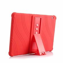 Soft Case For Huawei MediaPad T3 10 Tablet Silicone Stand Cases For Huawei T3 9.6 inch Honor Play Pad 2 AGS-L09 AGS-L03 AGS-W09 цена и фото
