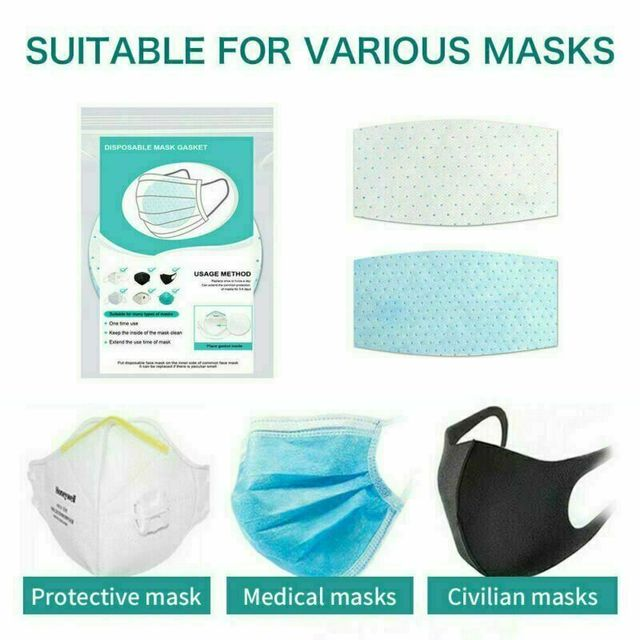 10PCS Disposable Protective Face Mask Gasket Anti Virus Flu Face Mask Filter Pad Scarf 4
