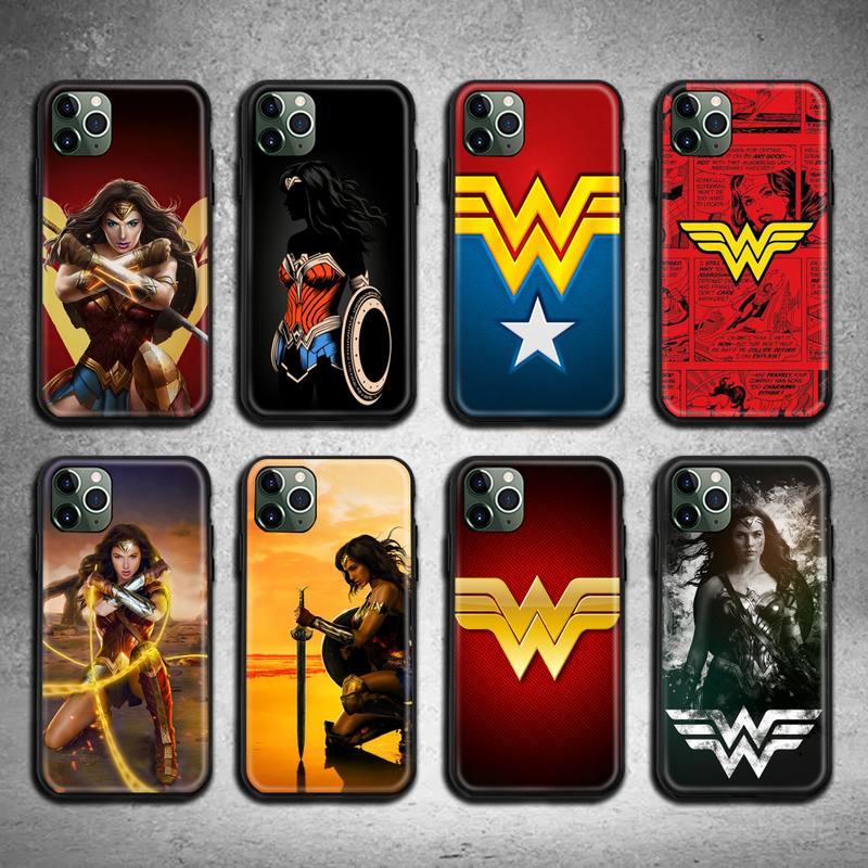 Женский чехол для телефона с супергероями, Женский чехол для iphone 12 11 Pro Max Mini XS Max 8 7 6 6S Plus X 5S SE 2020 XR