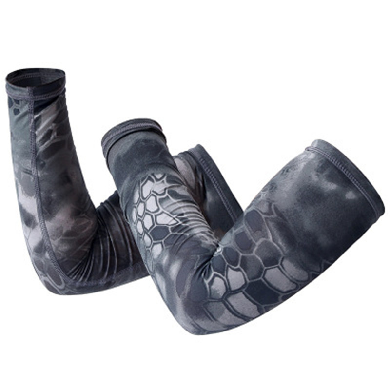 Arm Warmers Cycling Sunscreen UV Protection Camouflage Sports Arm Warmers Arm Sleeves Basketball Volleyball Hunting Arm Warmer