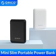 ORICO 5000mAh 보조베터리 듀얼 USB 휴대용 슬림 얇은 Poverbank 휴대용 외장 배터리 아이폰 Xiaomi 휴대 전화